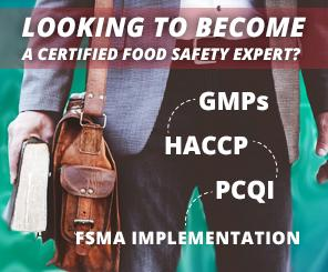 Certified Food Safety Expert Program