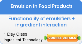 Emulsion in Food Products