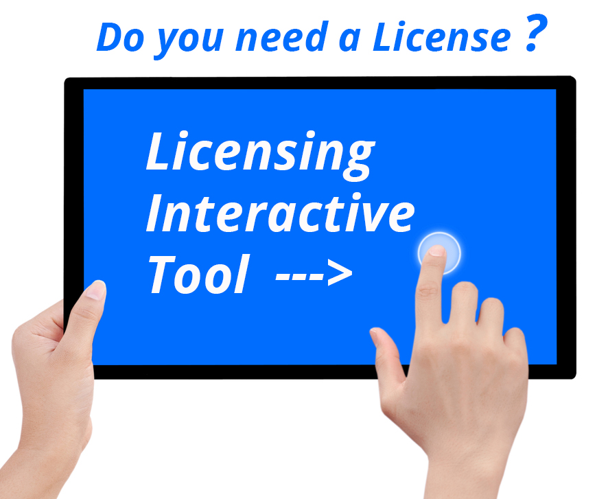 Licensing Interactive Tool