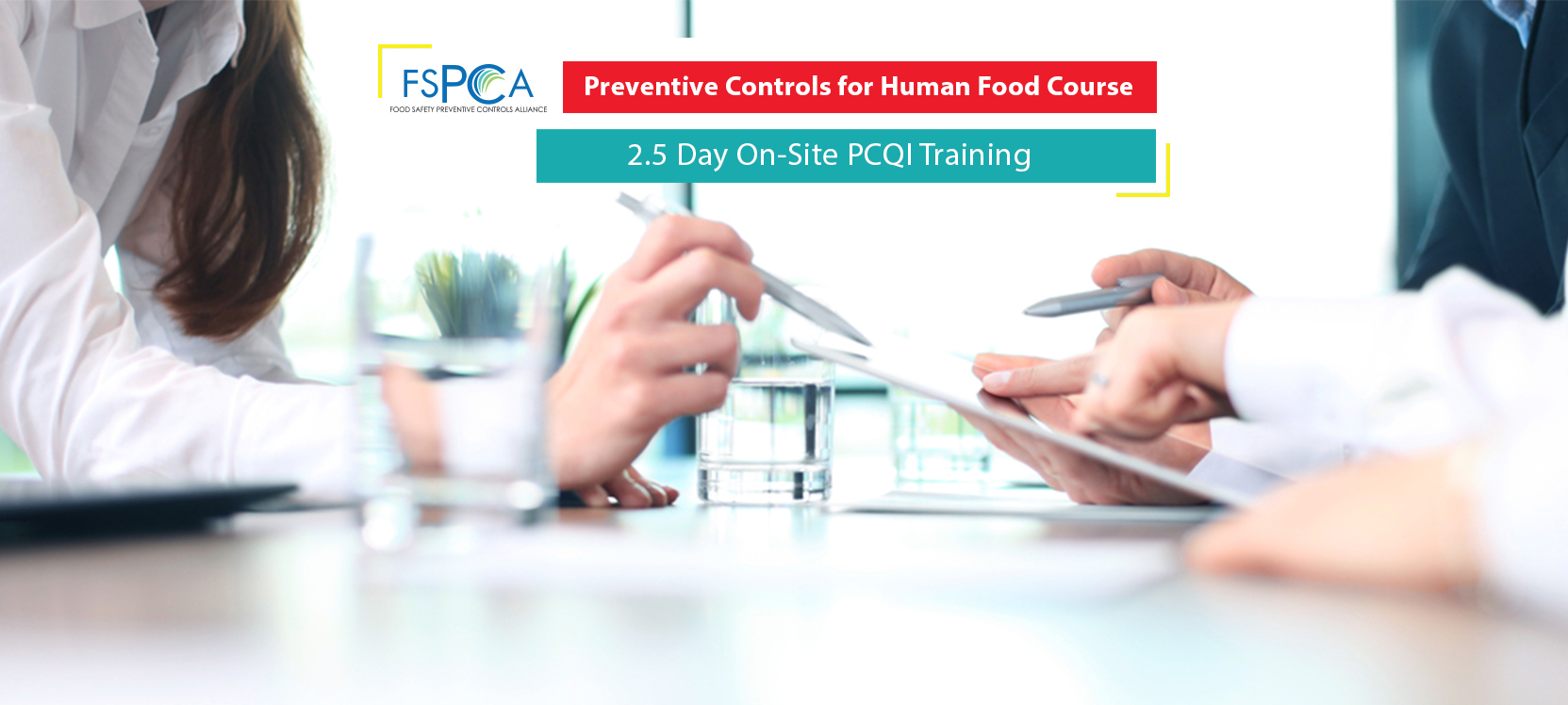 On-site PCQI Training